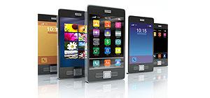 Mobiltelefone, Handys